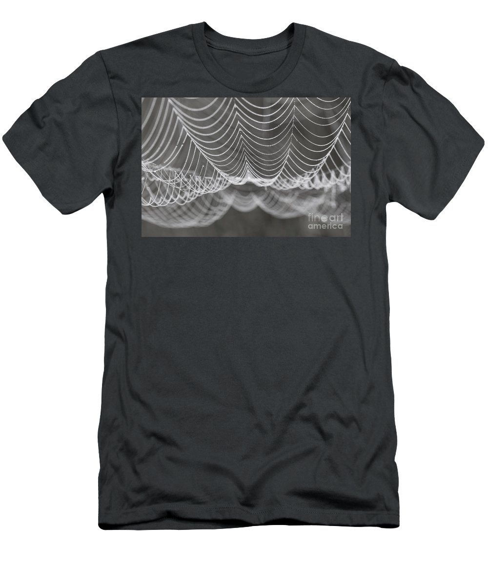 B&w Men's T-Shirt (Athletic Fit) featuring the photograph Pearls by Brothers Beerens
