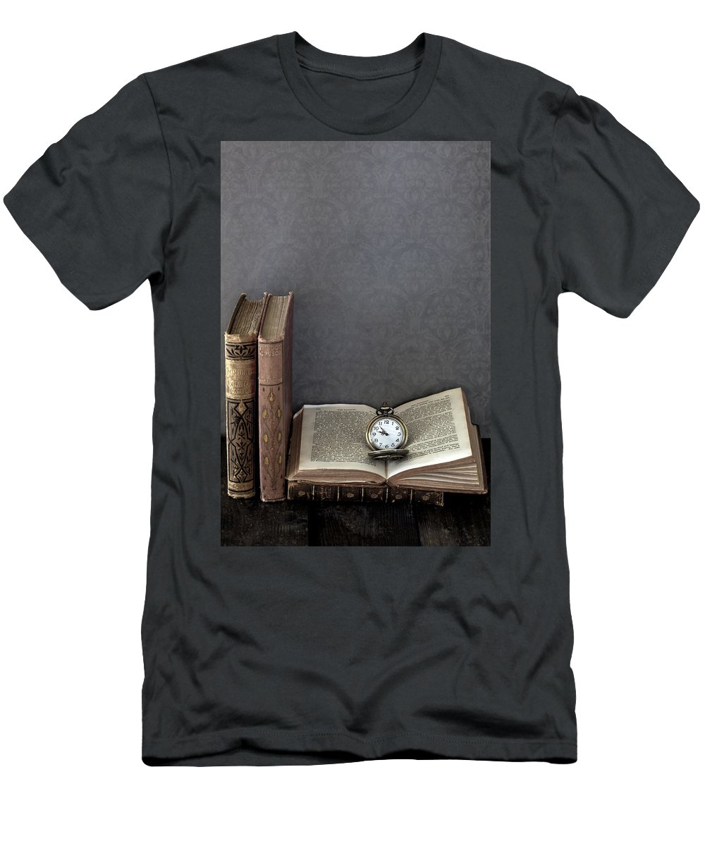 Book Men's T-Shirt (Athletic Fit) featuring the photograph Pocket Watch by Joana Kruse