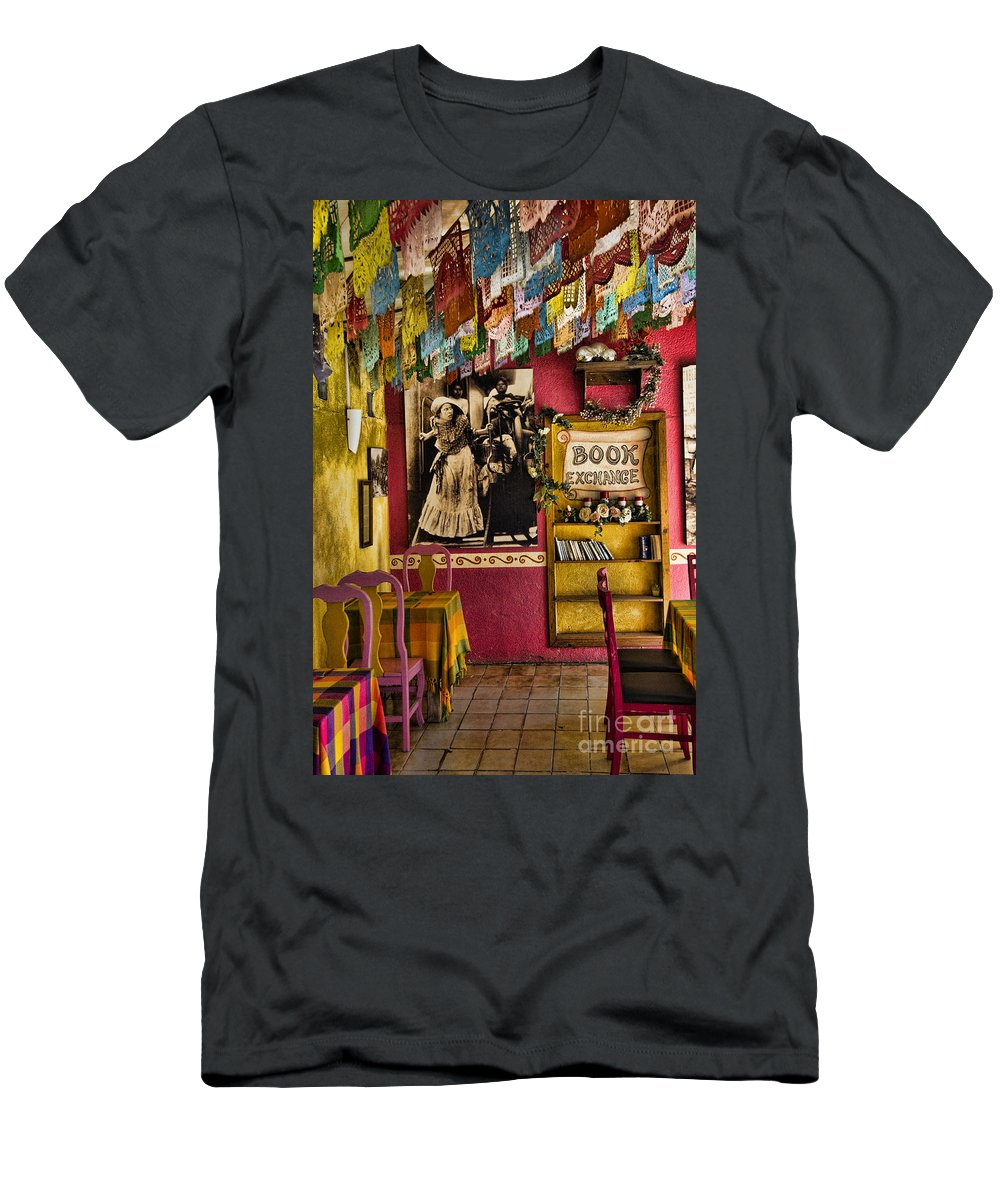 San Jose Del Cabo Men's T-Shirt (Athletic Fit) featuring the photograph San Jose Del Cabo by David Smith