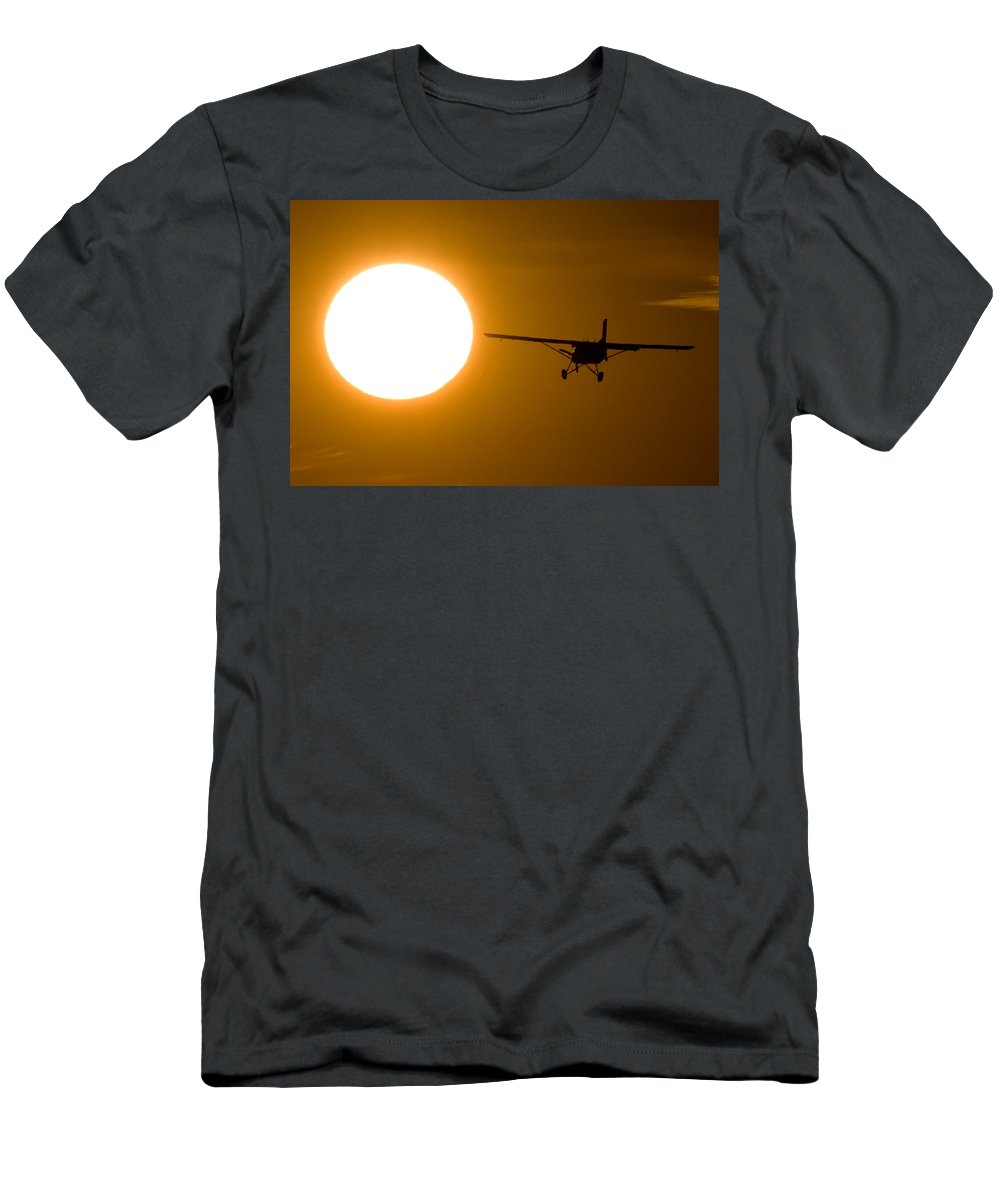 Sun Men's T-Shirt (Athletic Fit) featuring the photograph The Sun by Paul Job