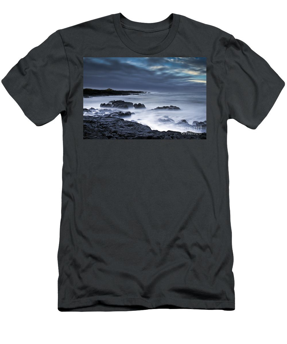 Nature Men's T-Shirt (Athletic Fit) featuring the photograph Time by Gunnar Orn Arnason