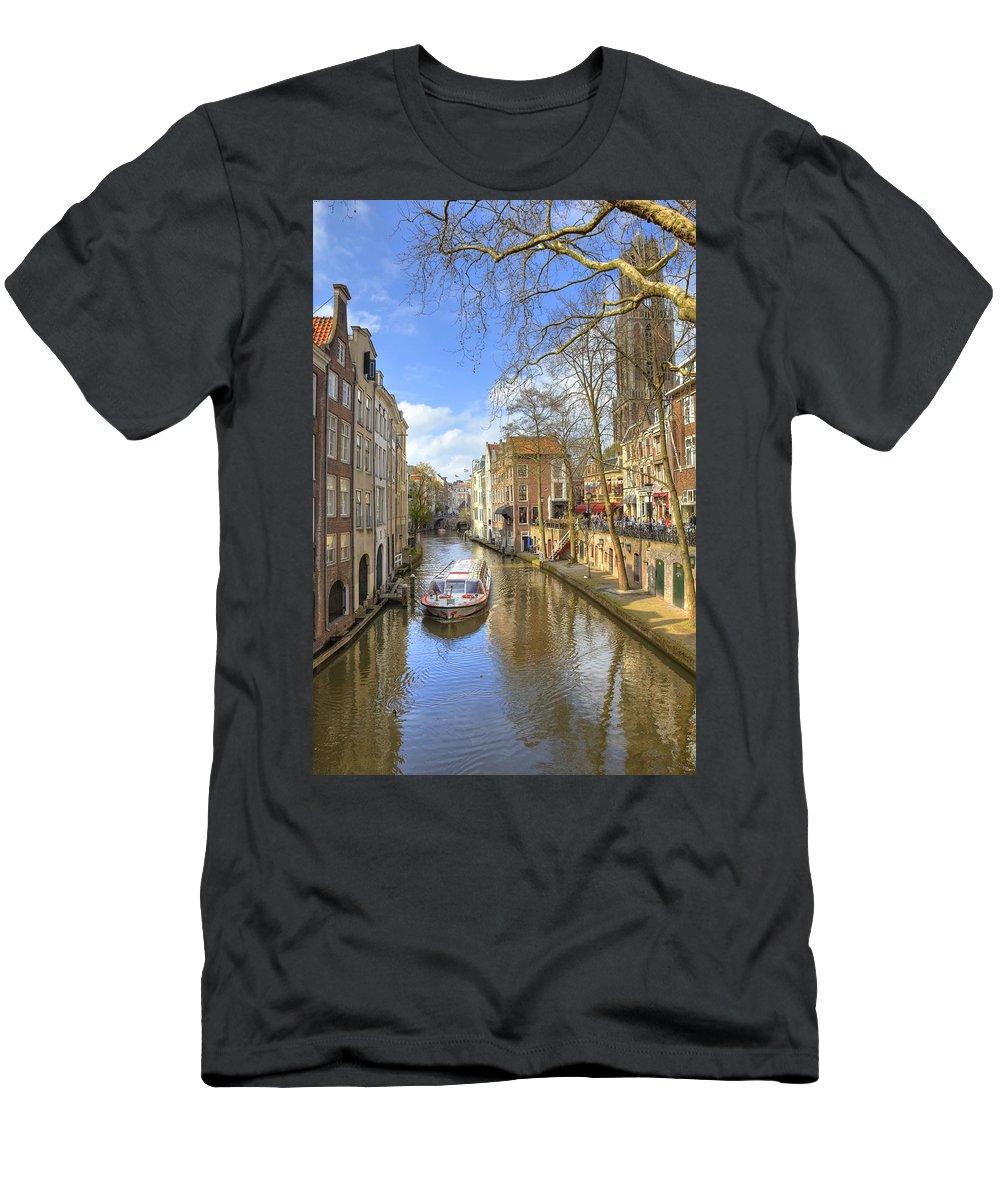 Utrecht Men's T-Shirt (Athletic Fit) featuring the photograph Utrecht by Joana Kruse