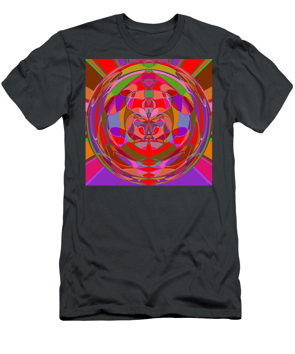 Abstract Men's T-Shirt (Athletic Fit) featuring the digital art 1015 Abstract Thought by Chowdary V Arikatla