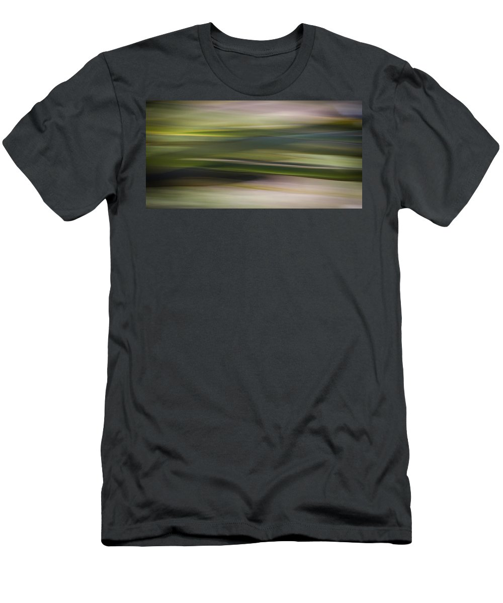 Blur Men's T-Shirt (Athletic Fit) featuring the photograph Blurscape by Dayne Reast