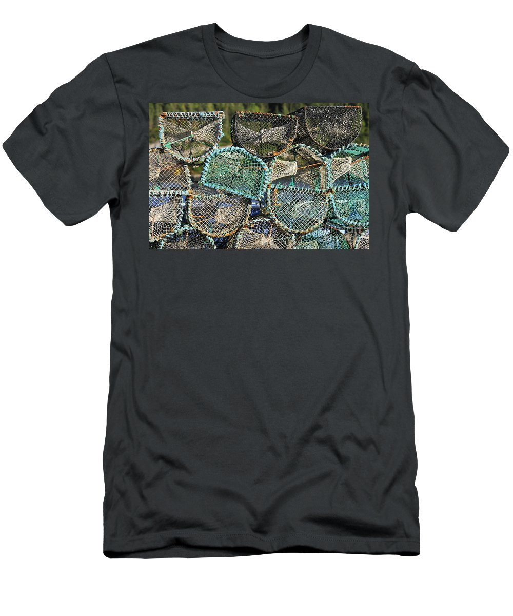 Plockton Men's T-Shirt (Athletic Fit) featuring the photograph 110221p241 by Arterra Picture Library