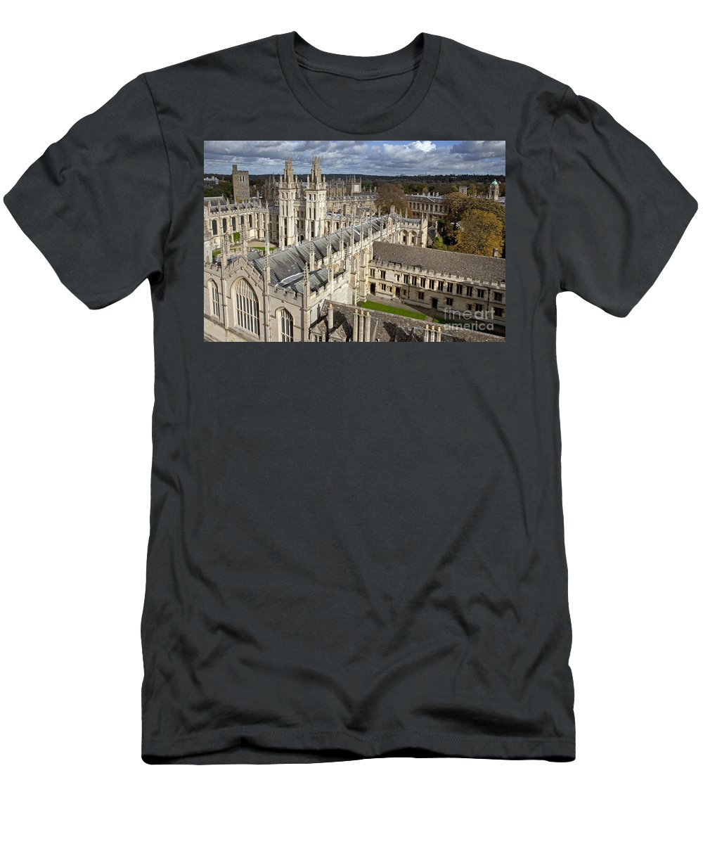 All Souls Men's T-Shirt (Athletic Fit) featuring the photograph 110307p105 by Arterra Picture Library