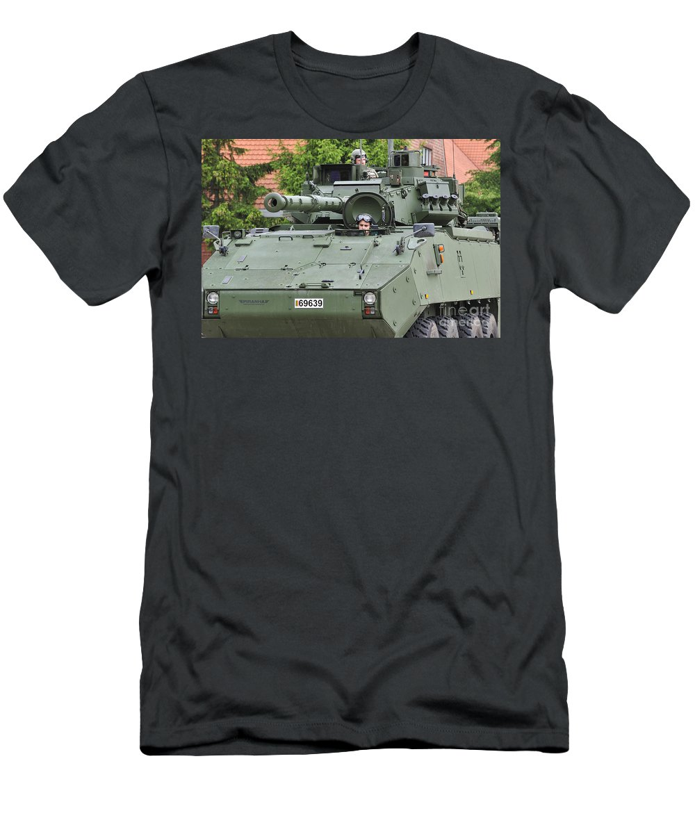 Mowag Men's T-Shirt (Athletic Fit) featuring the photograph 110506p351 by Arterra Picture Library
