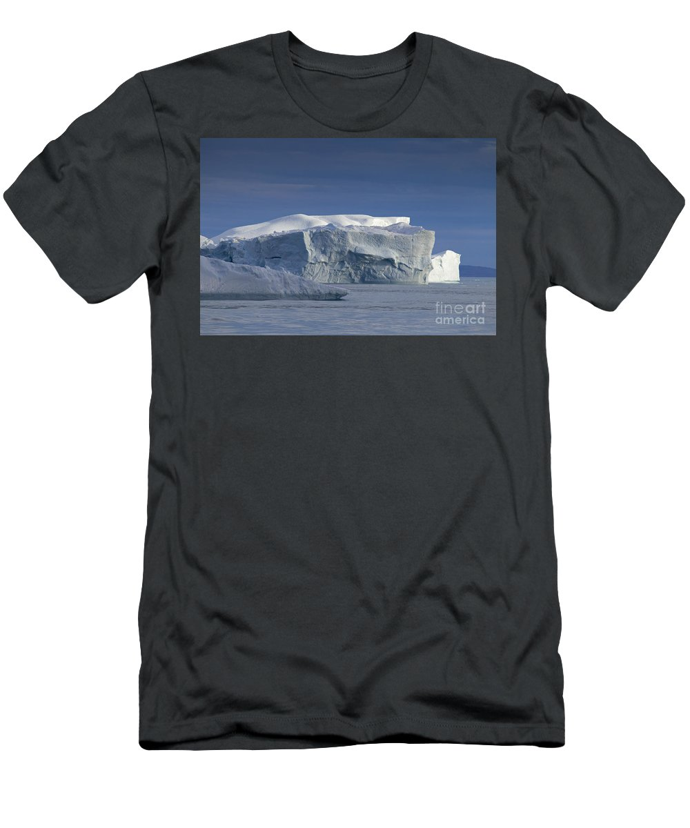 Iceberg Men's T-Shirt (Athletic Fit) featuring the photograph 110613p174 by Arterra Picture Library