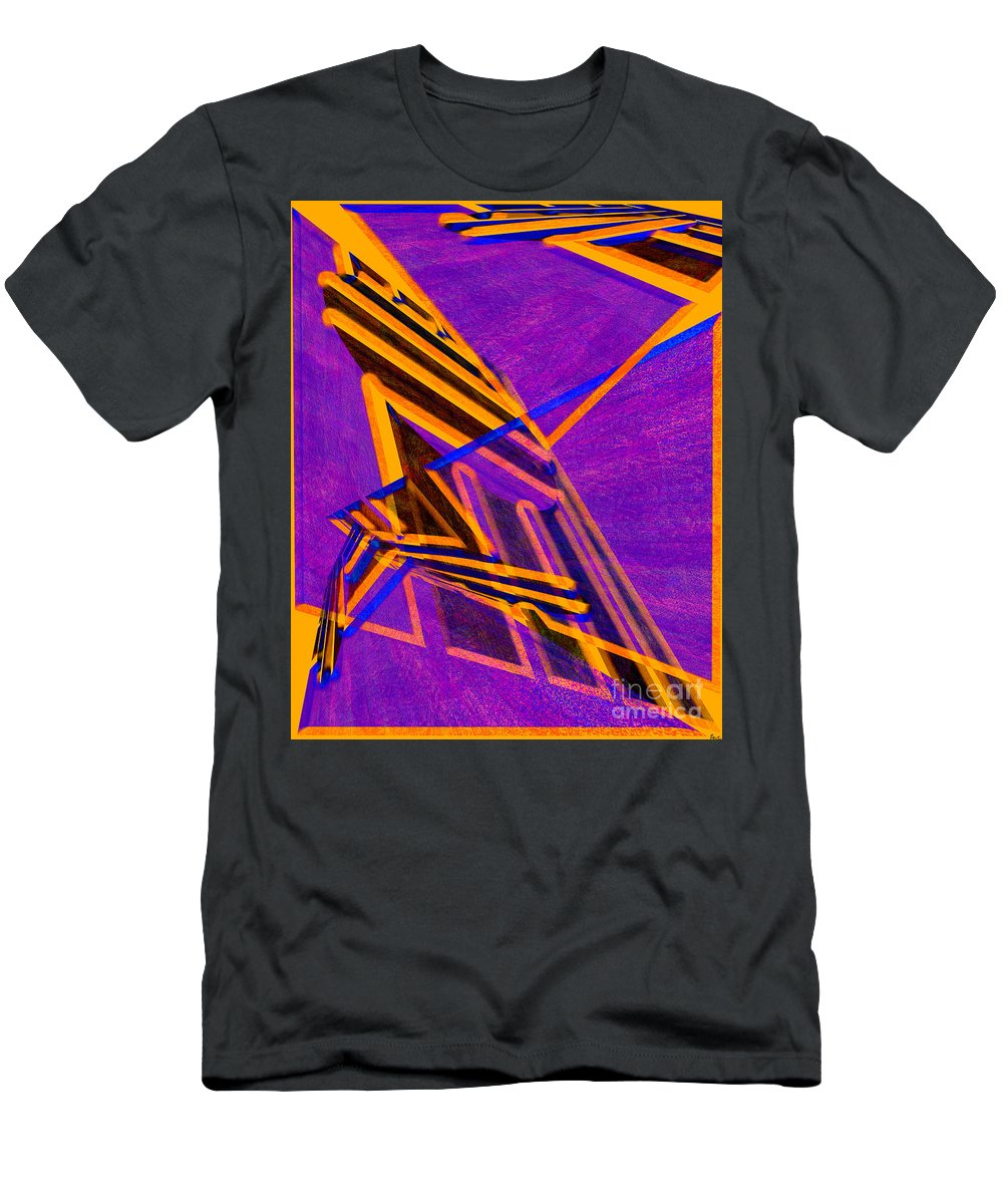 Abstract Men's T-Shirt (Athletic Fit) featuring the digital art 1359 Abstract Thought by Chowdary V Arikatla