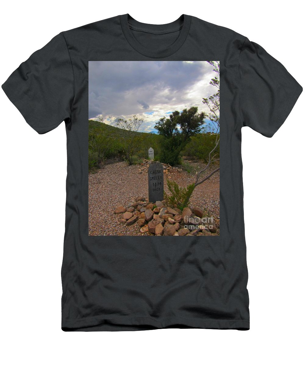 1800s Nothing Was Politically Correct Men's T-Shirt (Athletic Fit) featuring the photograph 1800s Nothing Was Politically Correct by John Malone