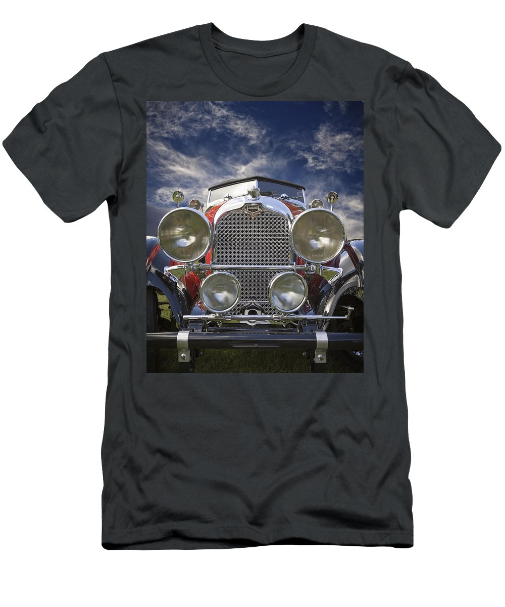 American Men's T-Shirt (Athletic Fit) featuring the photograph 1928 Auburn Model 8-88 Speedster by Jack R Perry