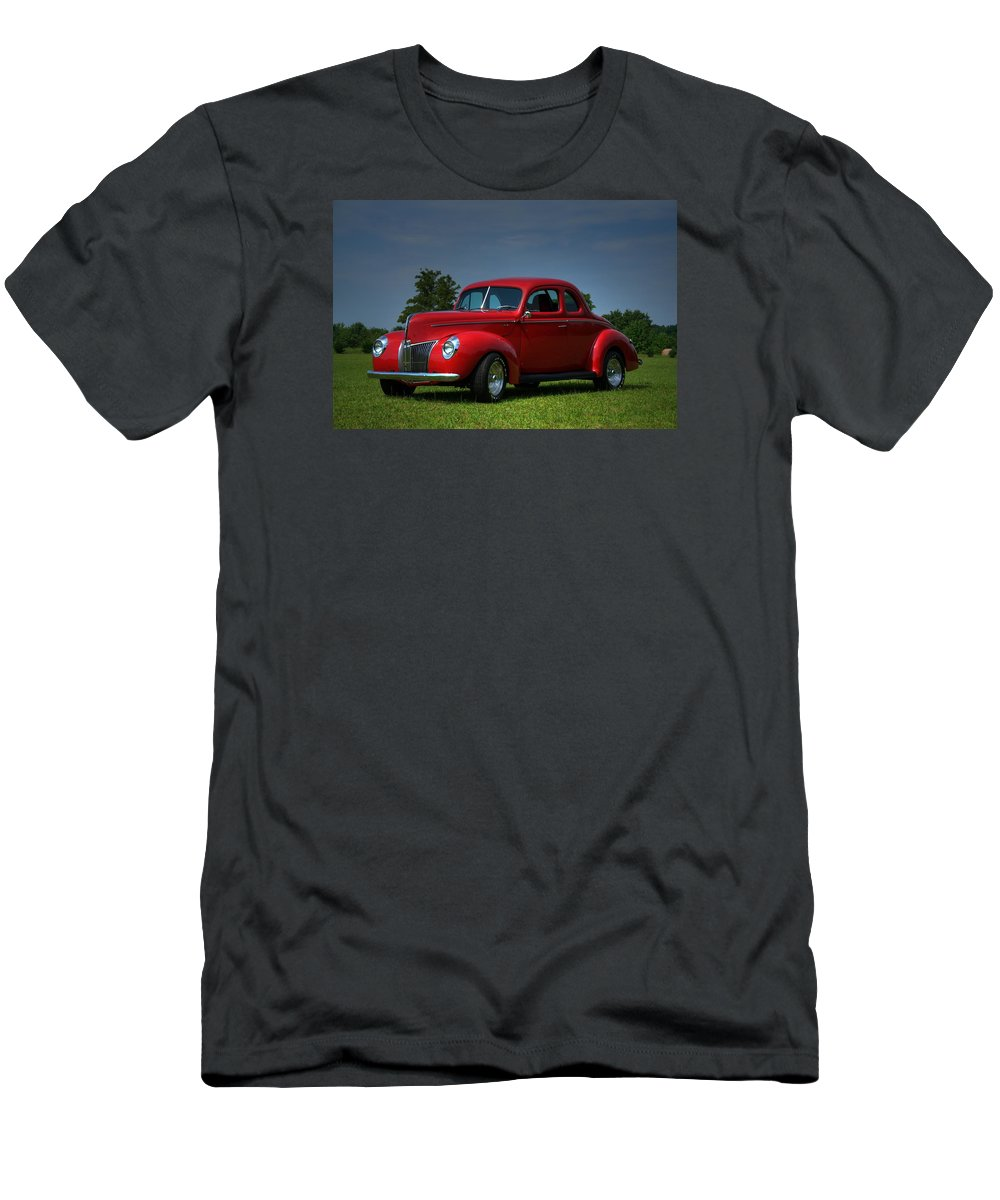 1940 Men's T-Shirt (Athletic Fit) featuring the photograph 1940 Ford Coupe by Sonja Dover