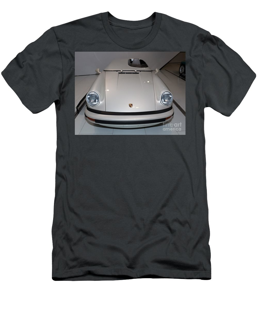 3d Men's T-Shirt (Athletic Fit) featuring the photograph 1987 Porsche 911 Carrera 3.2 Speedster Studie by Paul Fearn