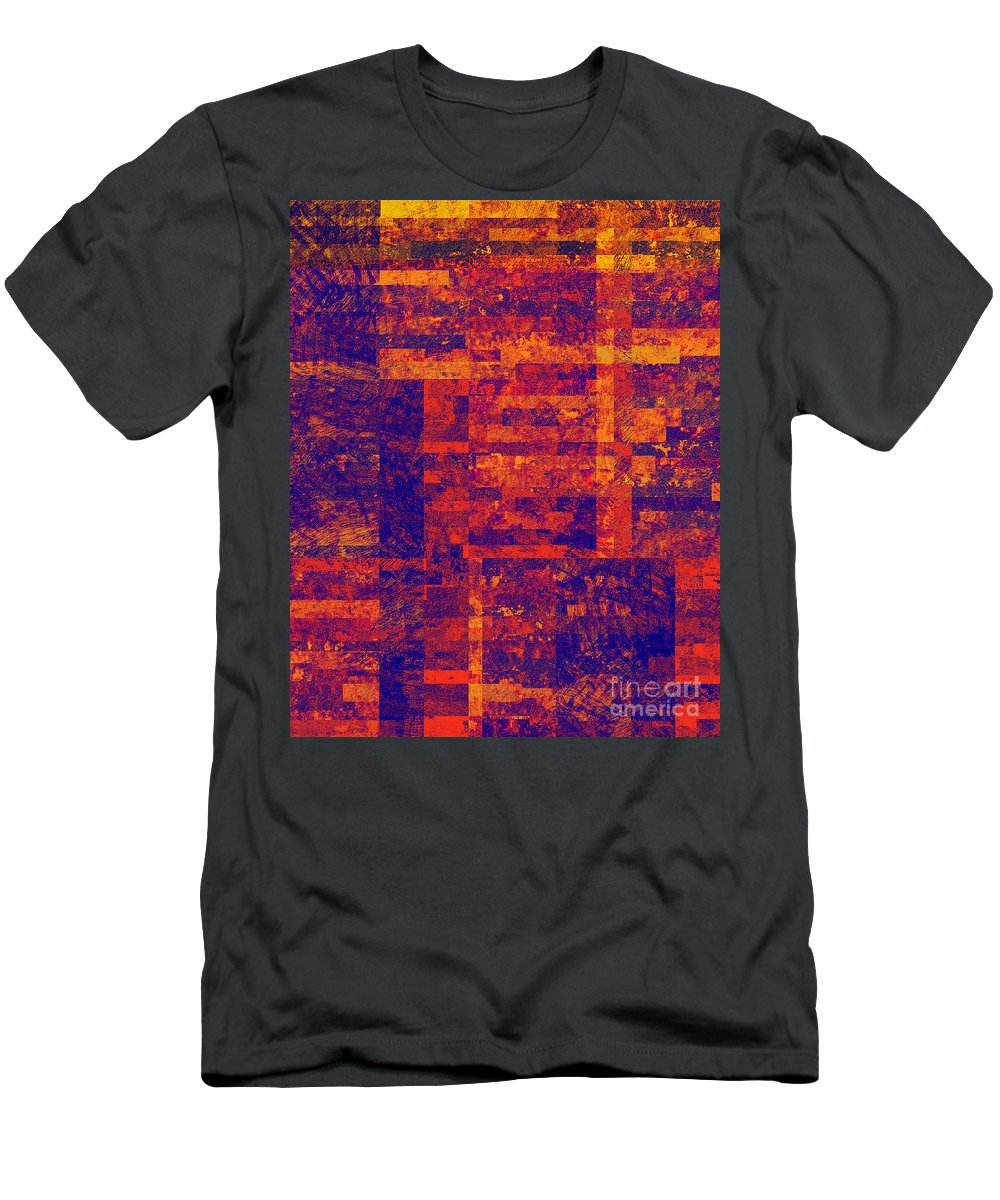 Abstract Men's T-Shirt (Athletic Fit) featuring the digital art 0171 Abstract Thought by Chowdary V Arikatla