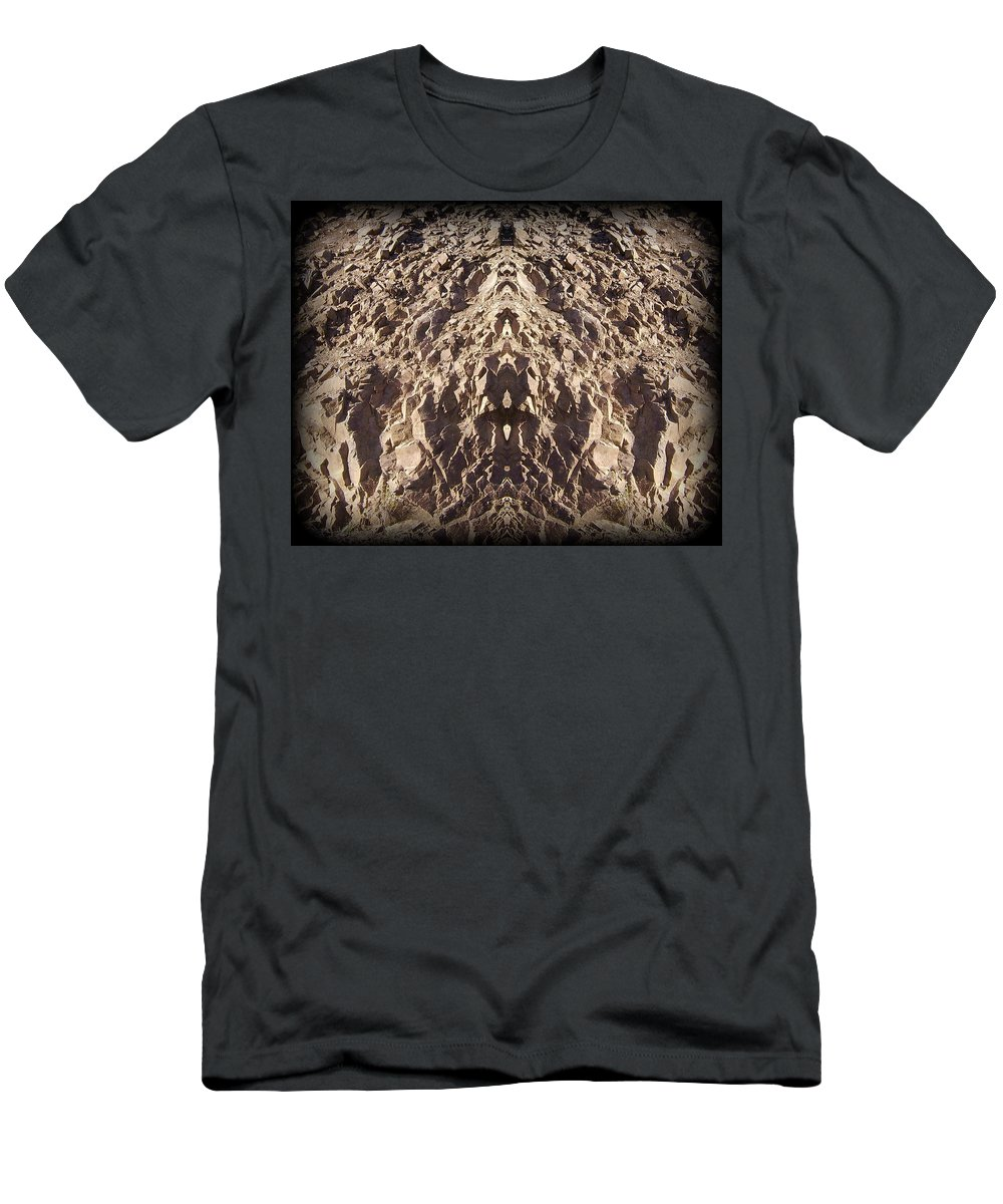 Original Men's T-Shirt (Athletic Fit) featuring the photograph Abstract 25 by J D Owen