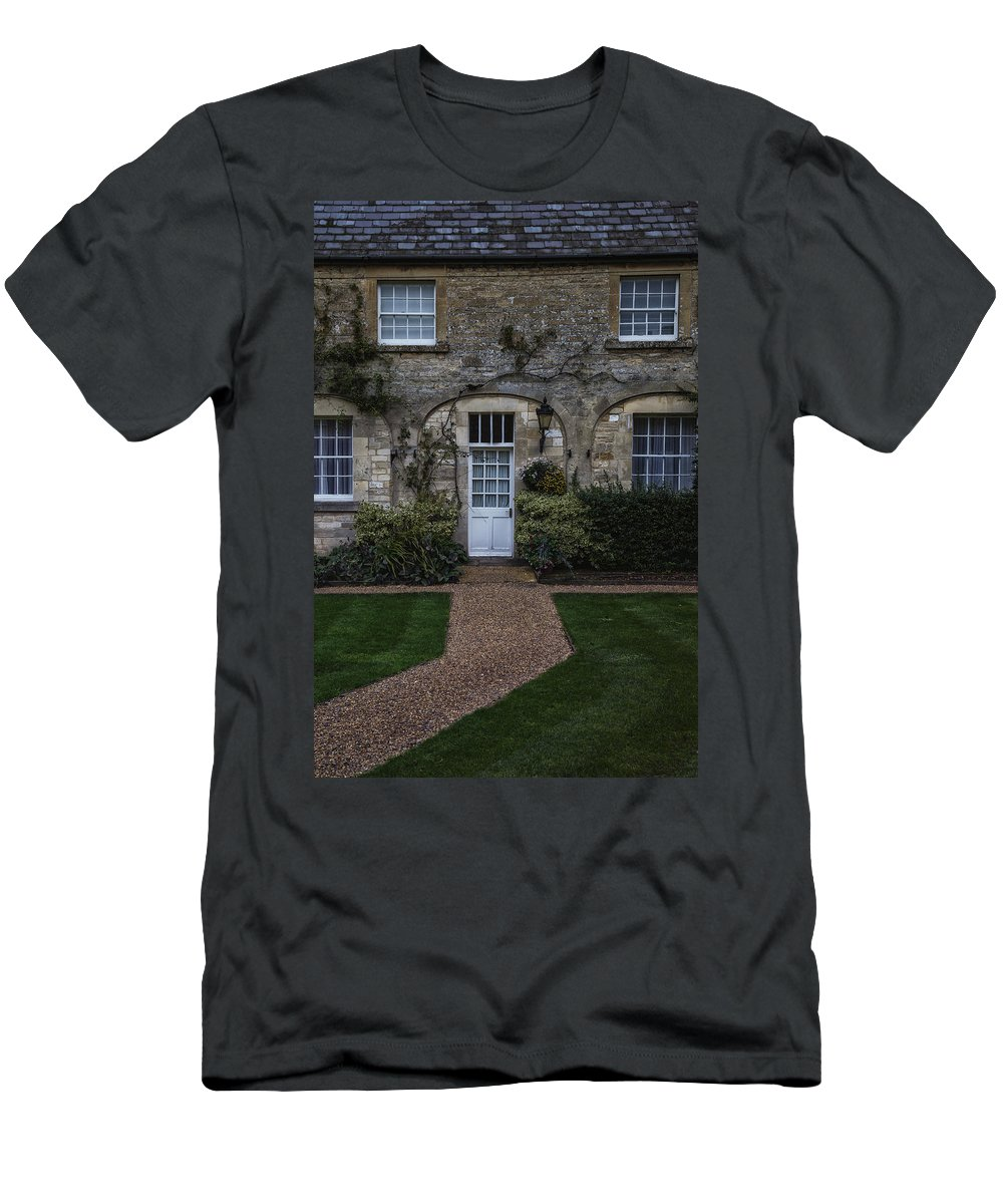 Cottage Men's T-Shirt (Athletic Fit) featuring the photograph Cottage by Joana Kruse