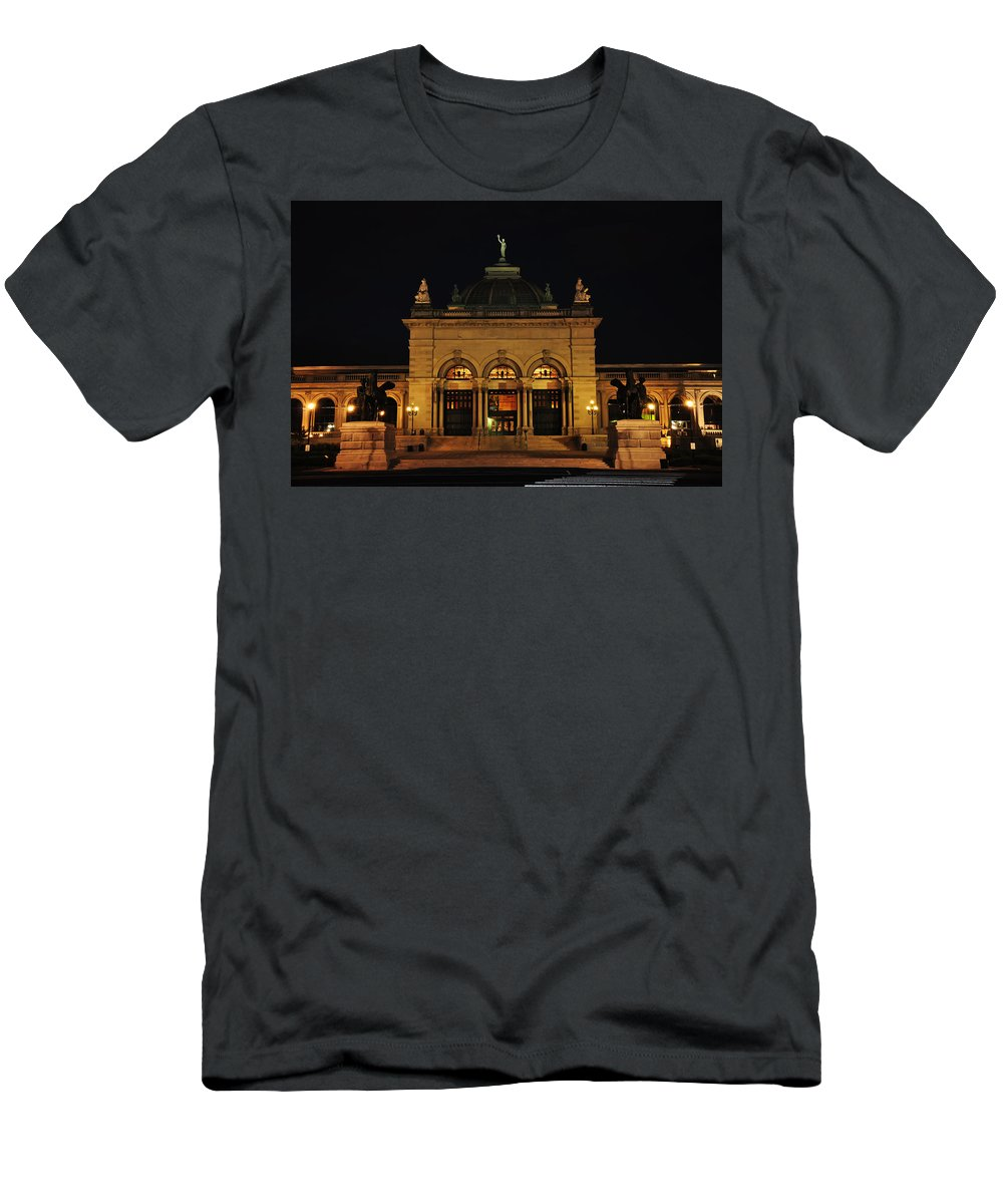 Memorial Hall - Philadelphia Men's T-Shirt (Athletic Fit) featuring the photograph Memorial Hall - Philadelphia by Bill Cannon
