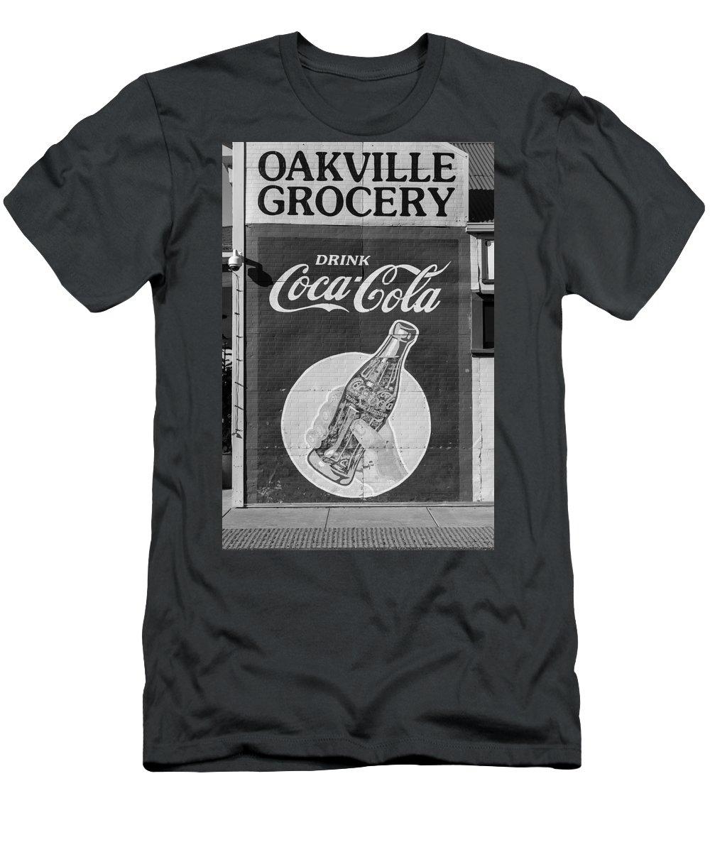 Oakville Men's T-Shirt (Athletic Fit) featuring the photograph Nostalgia by Mountain Dreams