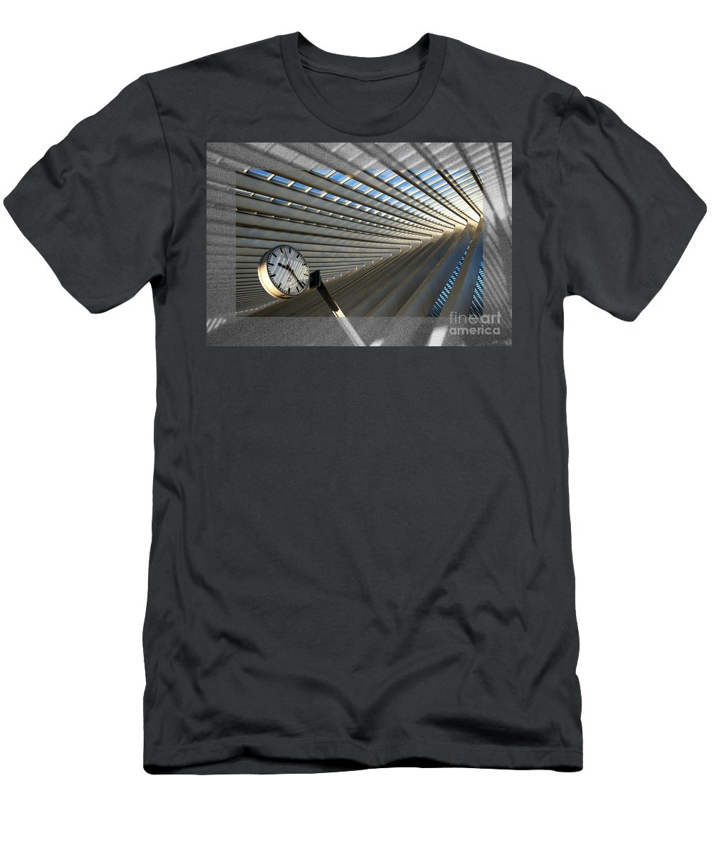 Time Men's T-Shirt (Athletic Fit) featuring the photograph Time Revisited by Rob Hawkins
