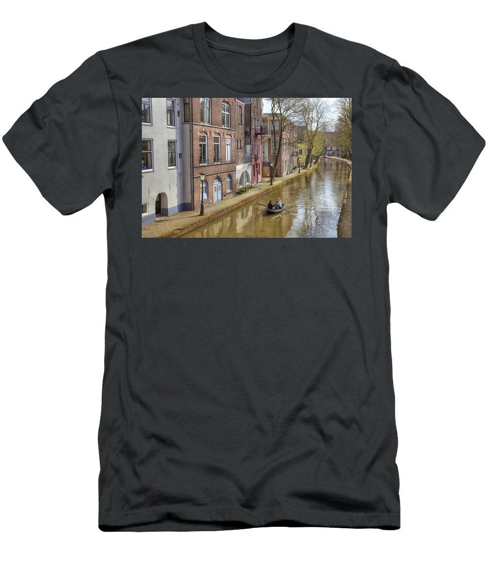 Utrecht Men's T-Shirt (Athletic Fit) featuring the photograph Utrecht by Joana Kruse