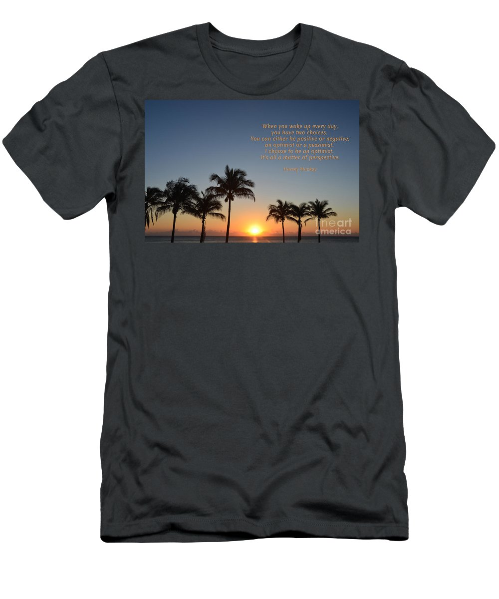 Harvey Mackay Men's T-Shirt (Athletic Fit) featuring the photograph 207- Harvey Mackay by Joseph Keane