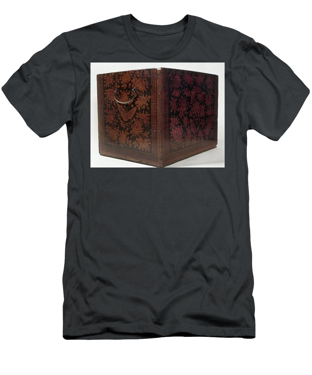 1775 Men's T-Shirt (Athletic Fit) featuring the photograph Boston Tea Party, 1773 by Granger