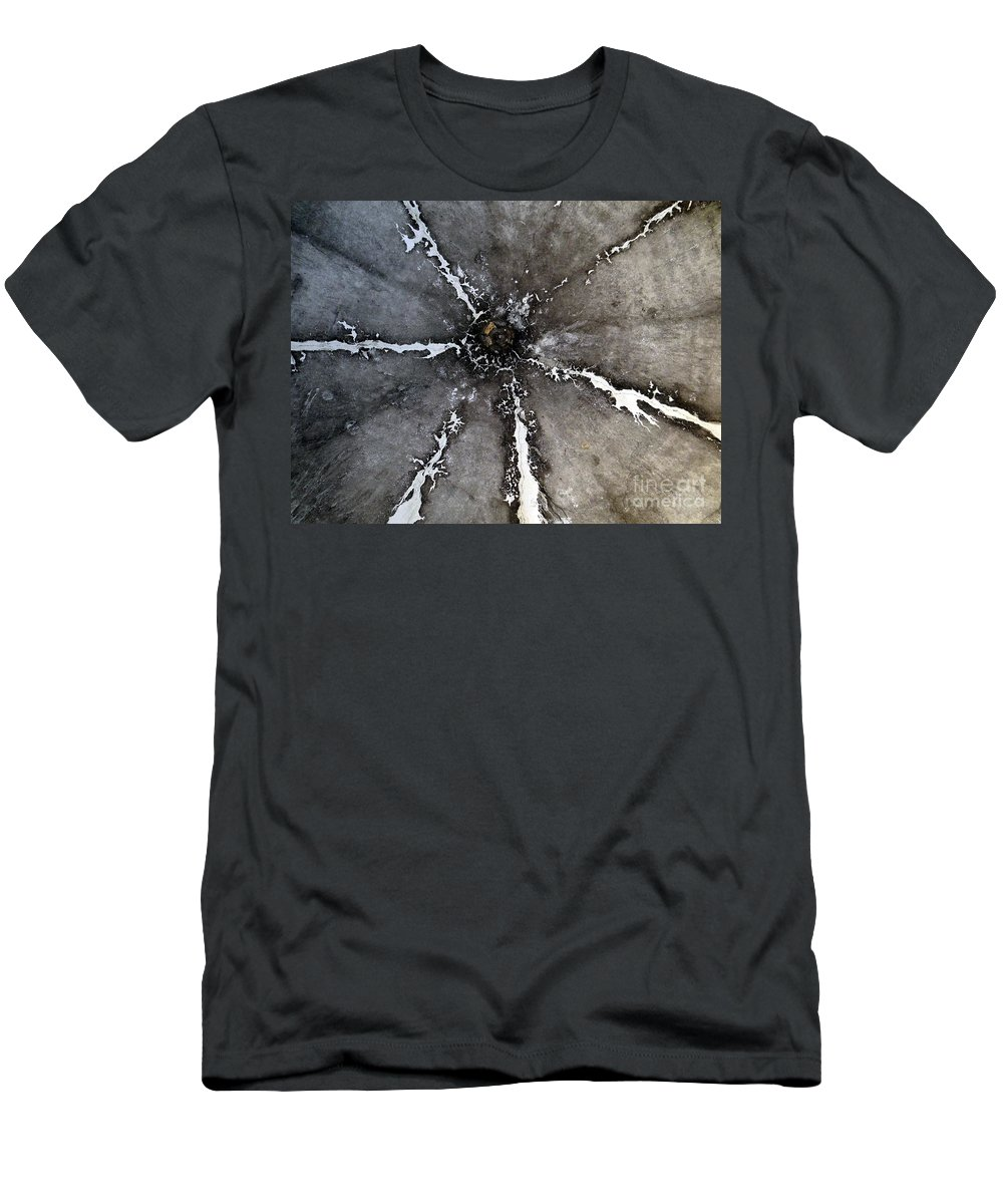 Mosaic Men's T-Shirt (Athletic Fit) featuring the photograph Untitled by Ed Weidman