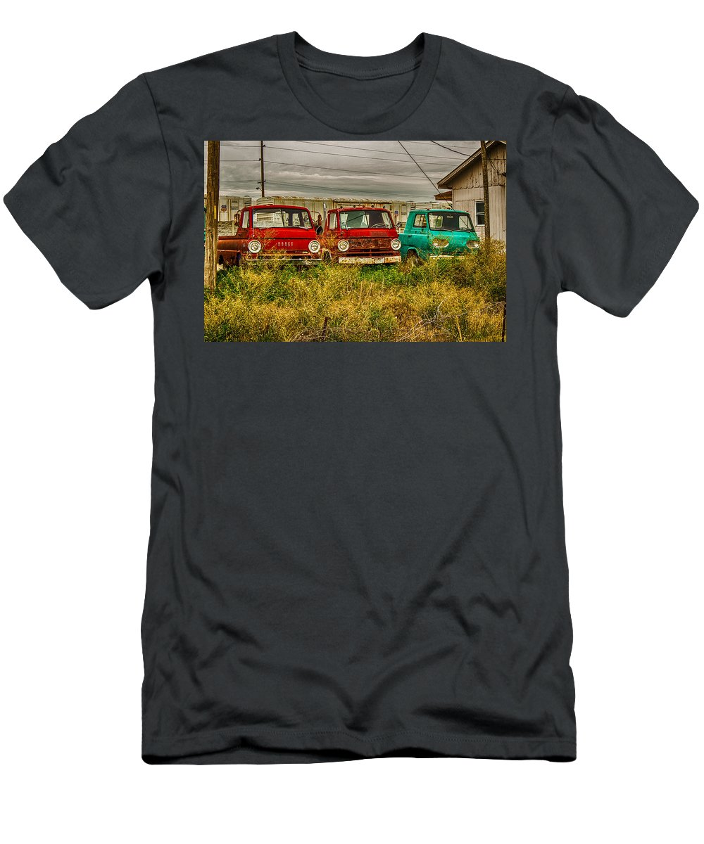 Truck Men's T-Shirt (Athletic Fit) featuring the photograph 3 Amigos by Ken Kobe