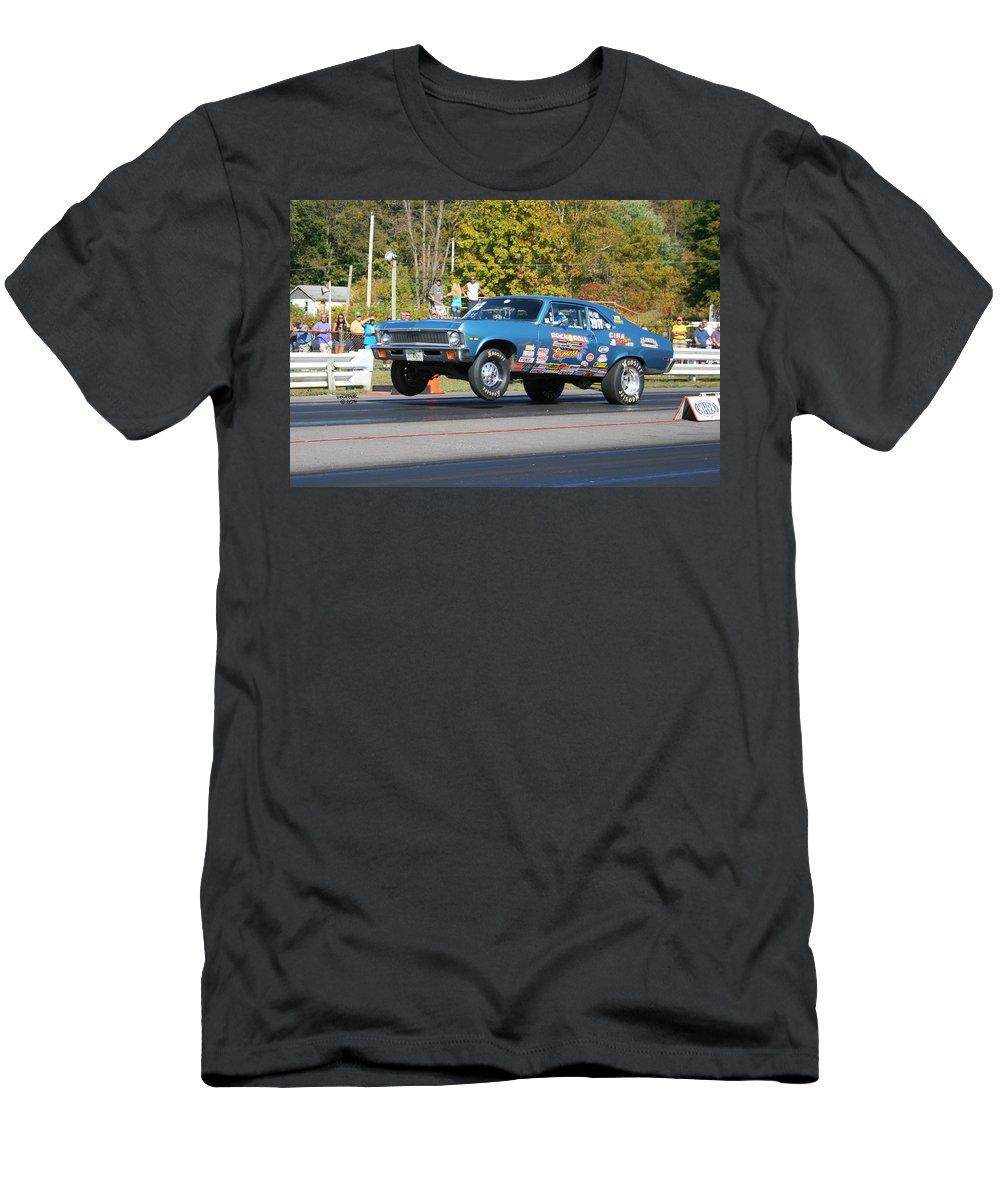 Esta Safety Park Men's T-Shirt (Athletic Fit) featuring the photograph Esta Safety Park 09-28-14 by Vicki Hopper