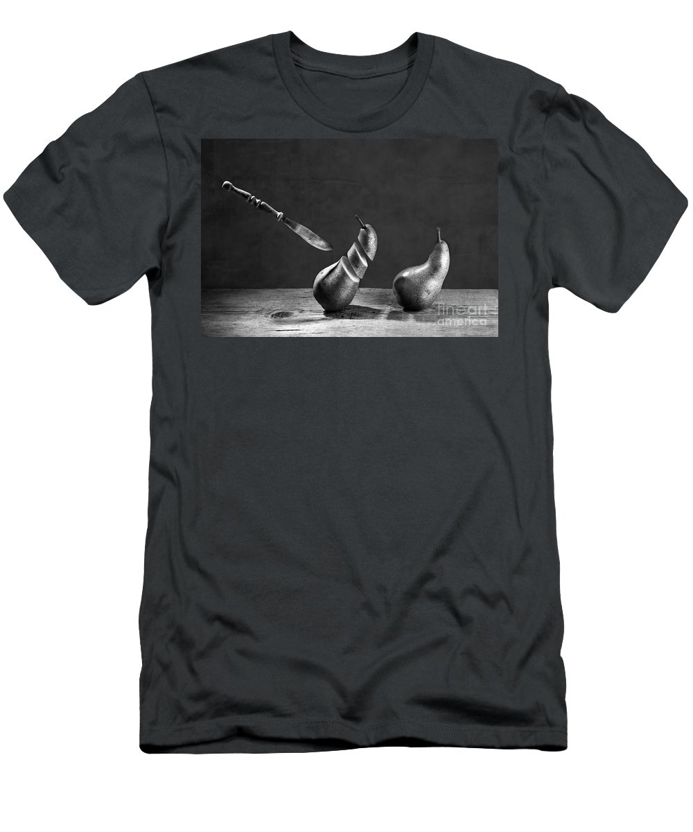 Pear T-Shirt featuring the photograph No Escape by Nailia Schwarz
