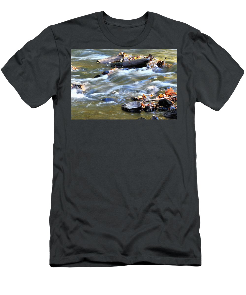 Water Men's T-Shirt (Athletic Fit) featuring the photograph Untitled by Gene Tatroe