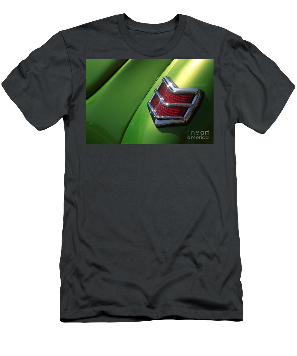 1940 Men's T-Shirt (Athletic Fit) featuring the photograph 40 Ford - Tail Light-8531 by Gary Gingrich Galleries