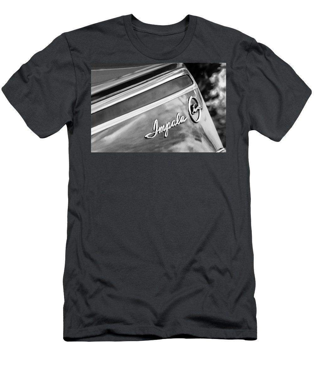 Chevrolet Impala Emblem Men's T-Shirt (Athletic Fit) featuring the photograph Chevrolet Impala Emblem by Jill Reger
