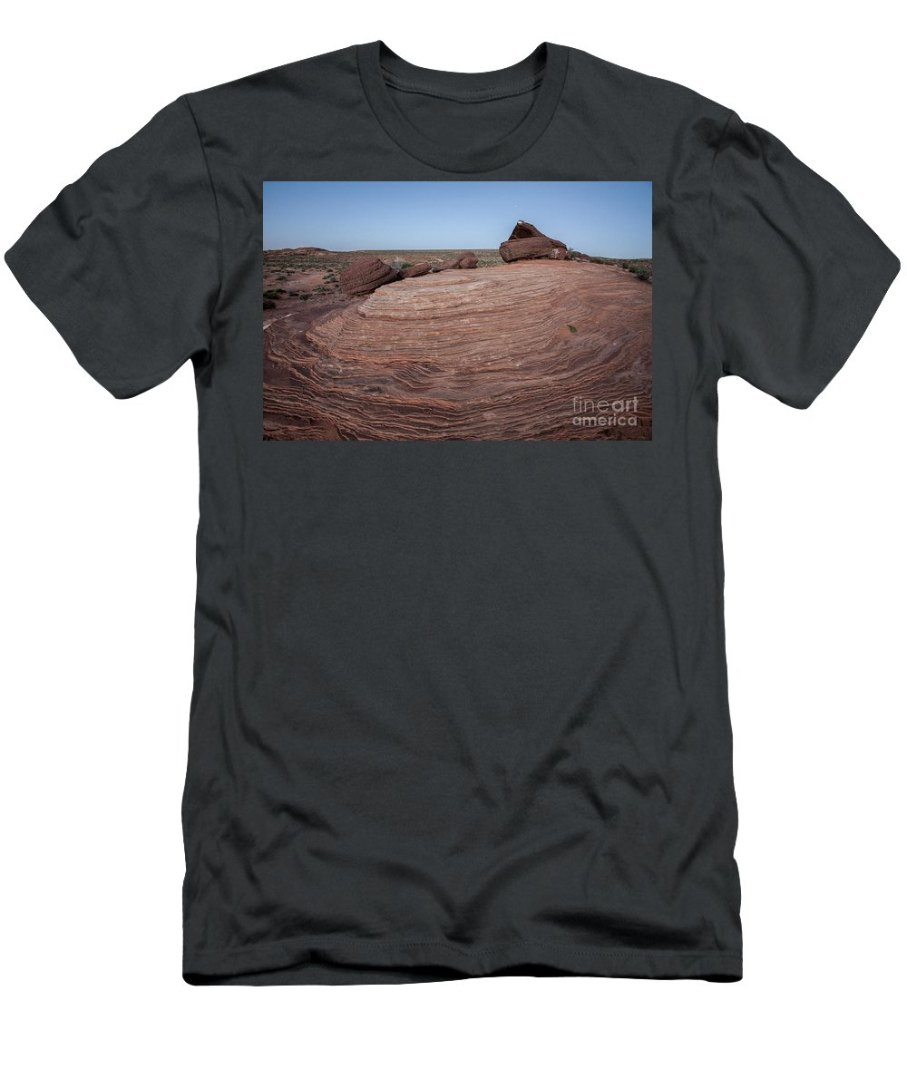 Horseshoe Bend Arizona Usa Daniel Knighton Pixel Perfect Images Men's T-Shirt (Athletic Fit) featuring the photograph Horseshoe Bend by Daniel Knighton