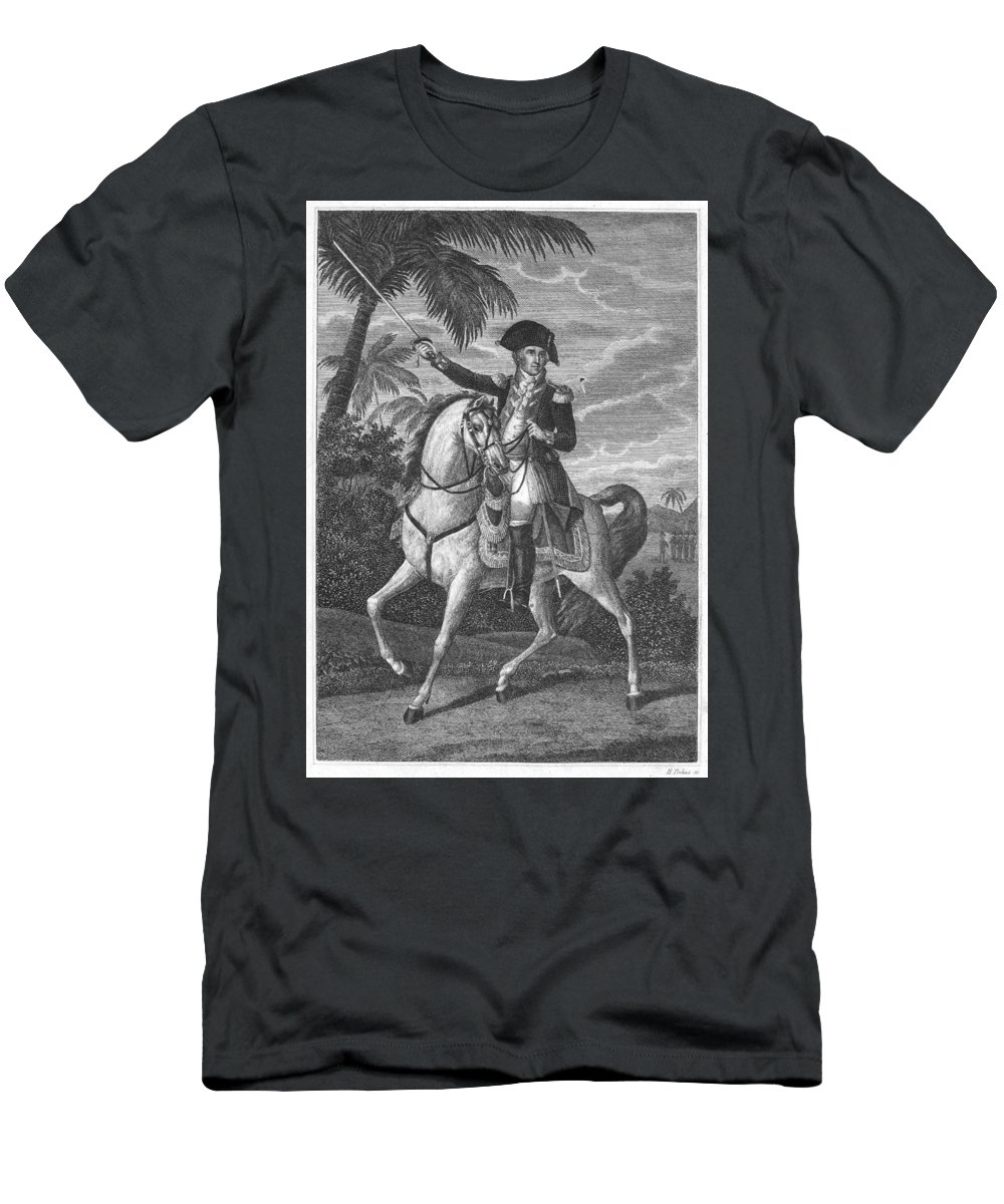 18th Century Men's T-Shirt (Athletic Fit) featuring the photograph George Washington by Granger