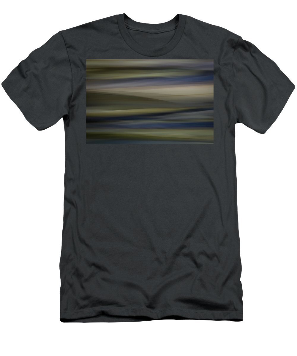 Motion Blur Men's T-Shirt (Athletic Fit) featuring the photograph Blurscape by Dayne Reast
