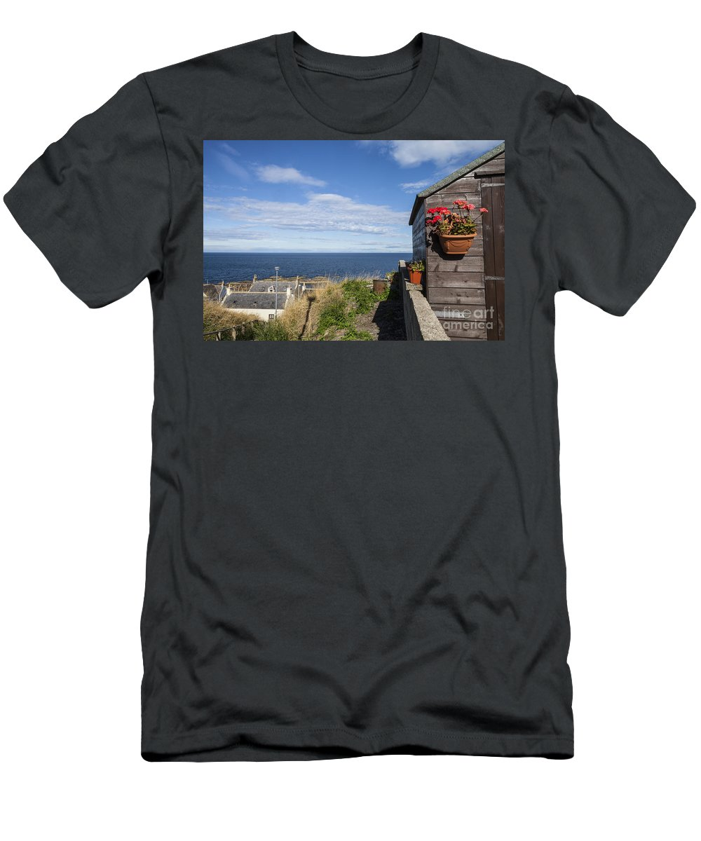 Buckie Men's T-Shirt (Athletic Fit) featuring the photograph A Beautiful View by Diane Macdonald