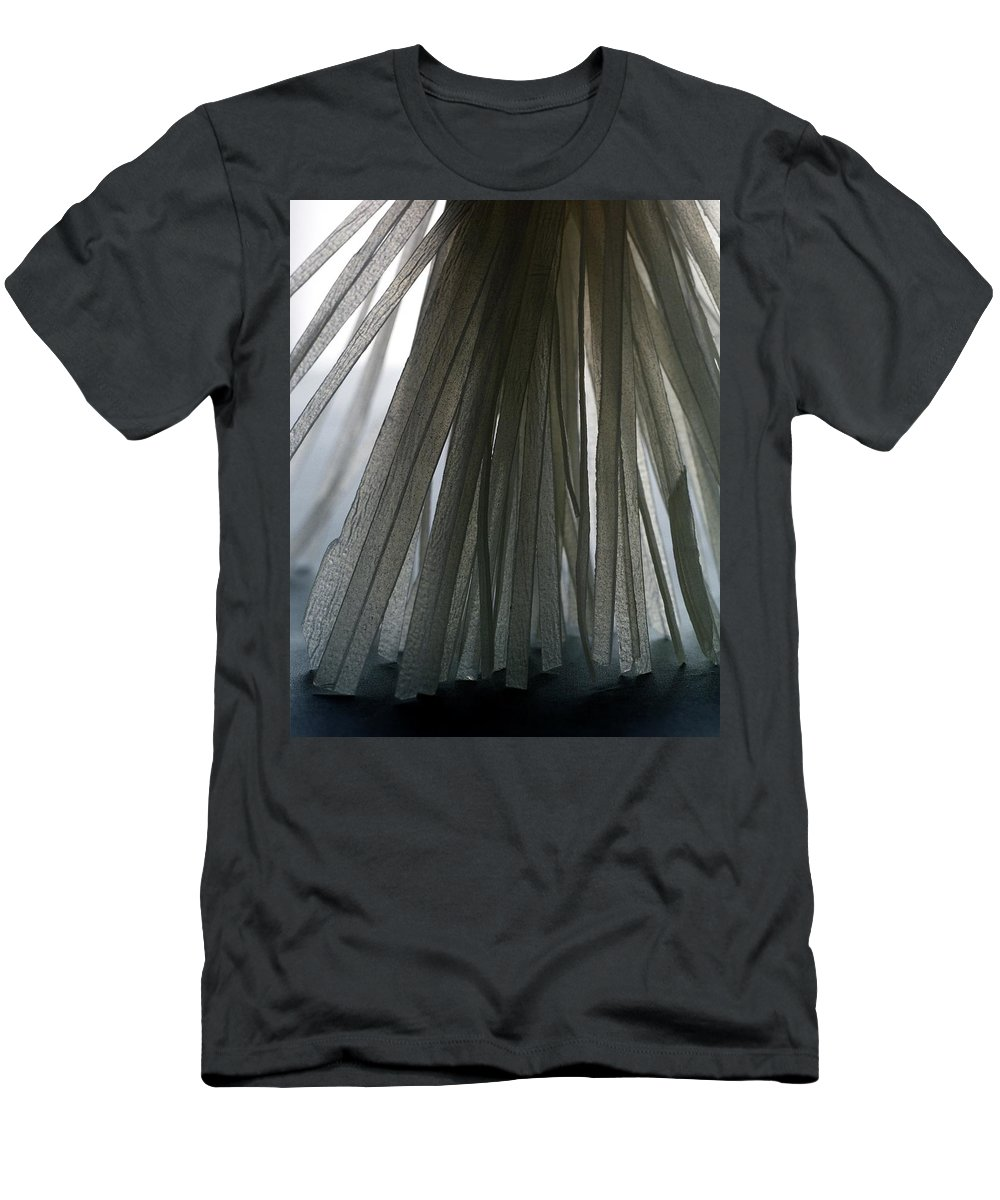 Cooking Men's T-Shirt (Athletic Fit) featuring the photograph A Bunch Of Tagliolini Pasta by Romulo Yanes