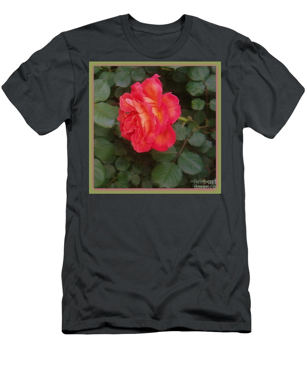 Beauty Men's T-Shirt (Athletic Fit) featuring the photograph A Gem On The Vine by Bobbee Rickard