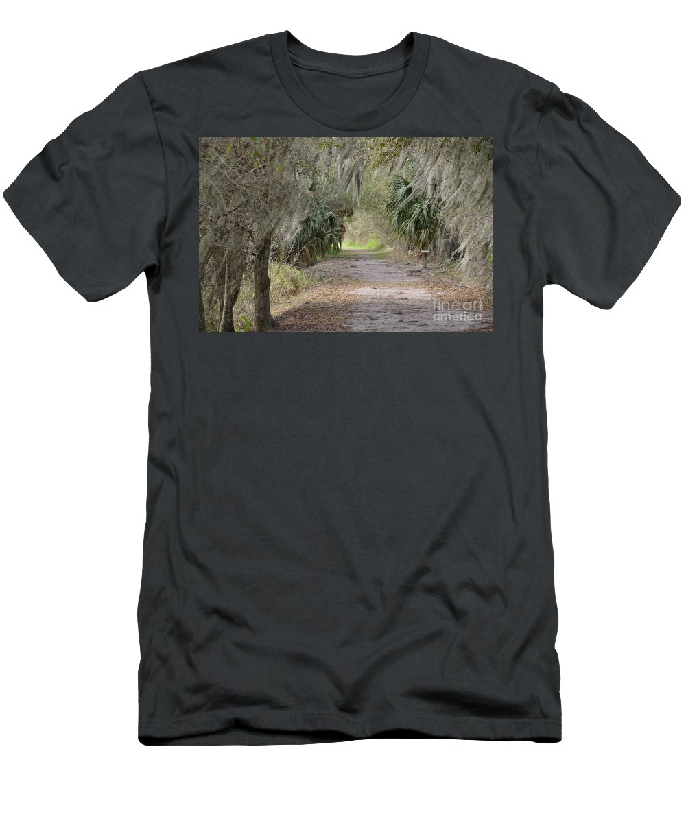 Reserve Men's T-Shirt (Athletic Fit) featuring the photograph A Peaceful Place by Carol Bradley