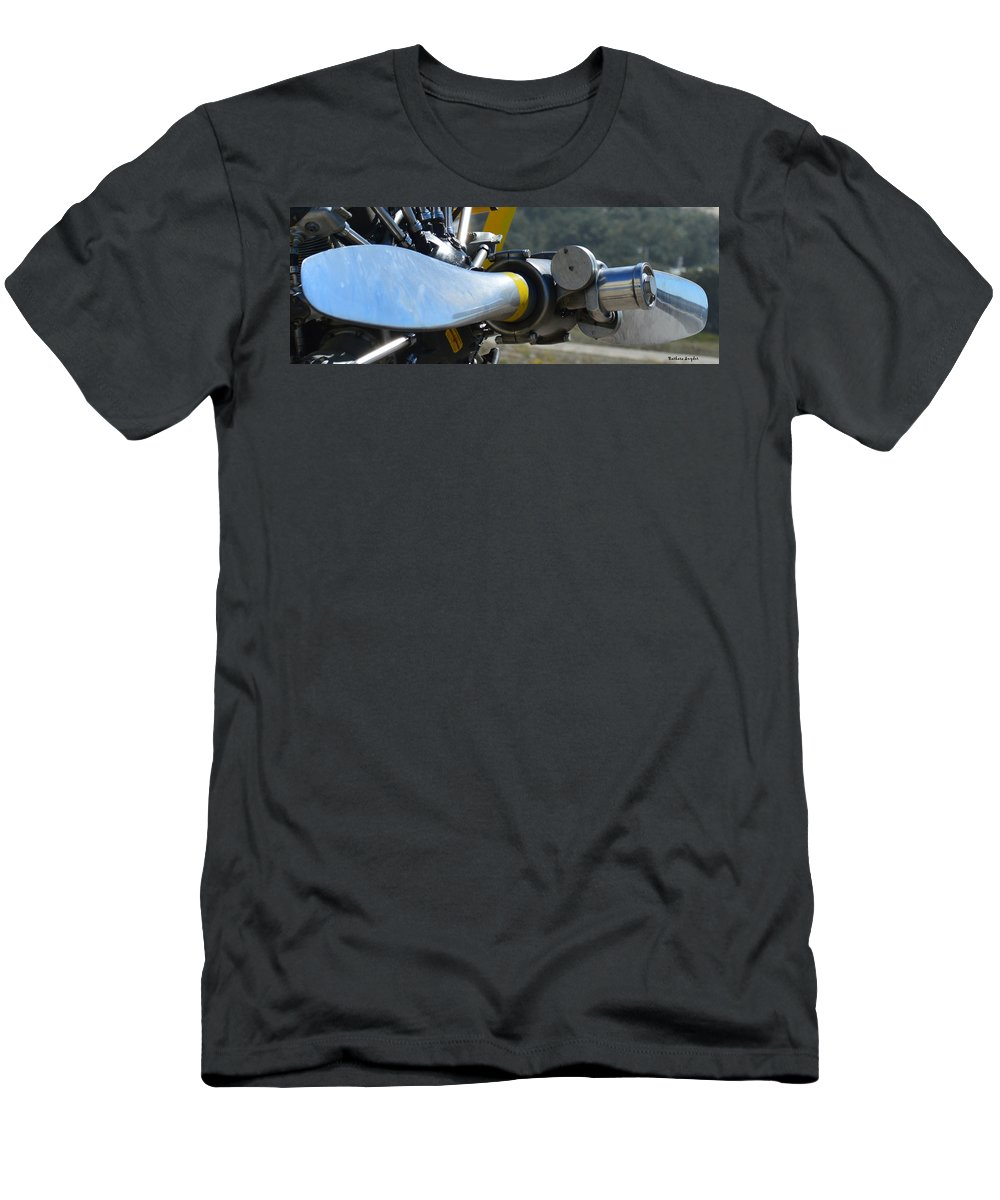 Barbara Snyder Men's T-Shirt (Athletic Fit) featuring the digital art A Proper Prop by Barbara Snyder