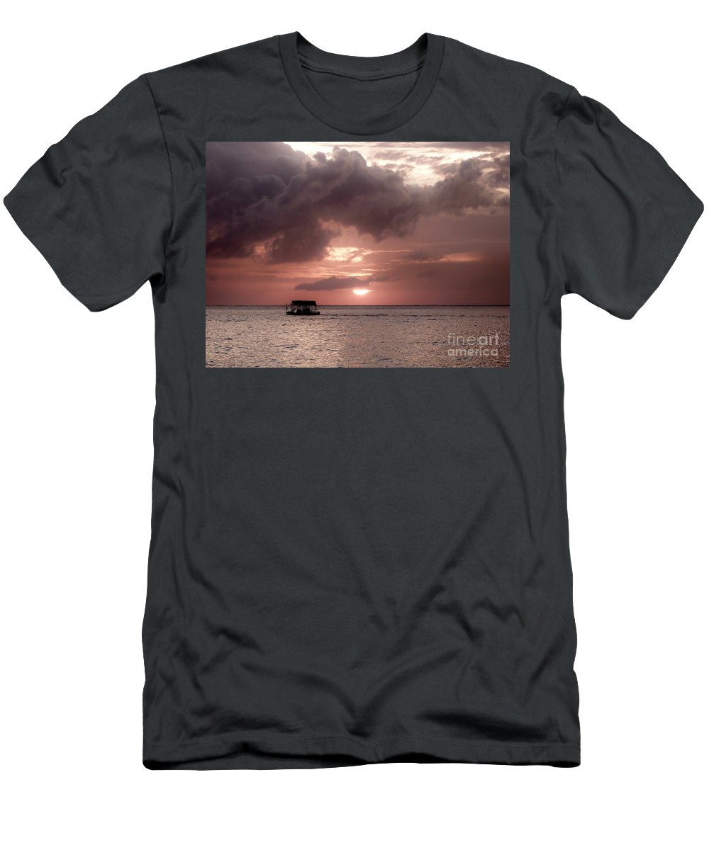 Color Men's T-Shirt (Athletic Fit) featuring the photograph Afternoon Delight by Amar Sheow