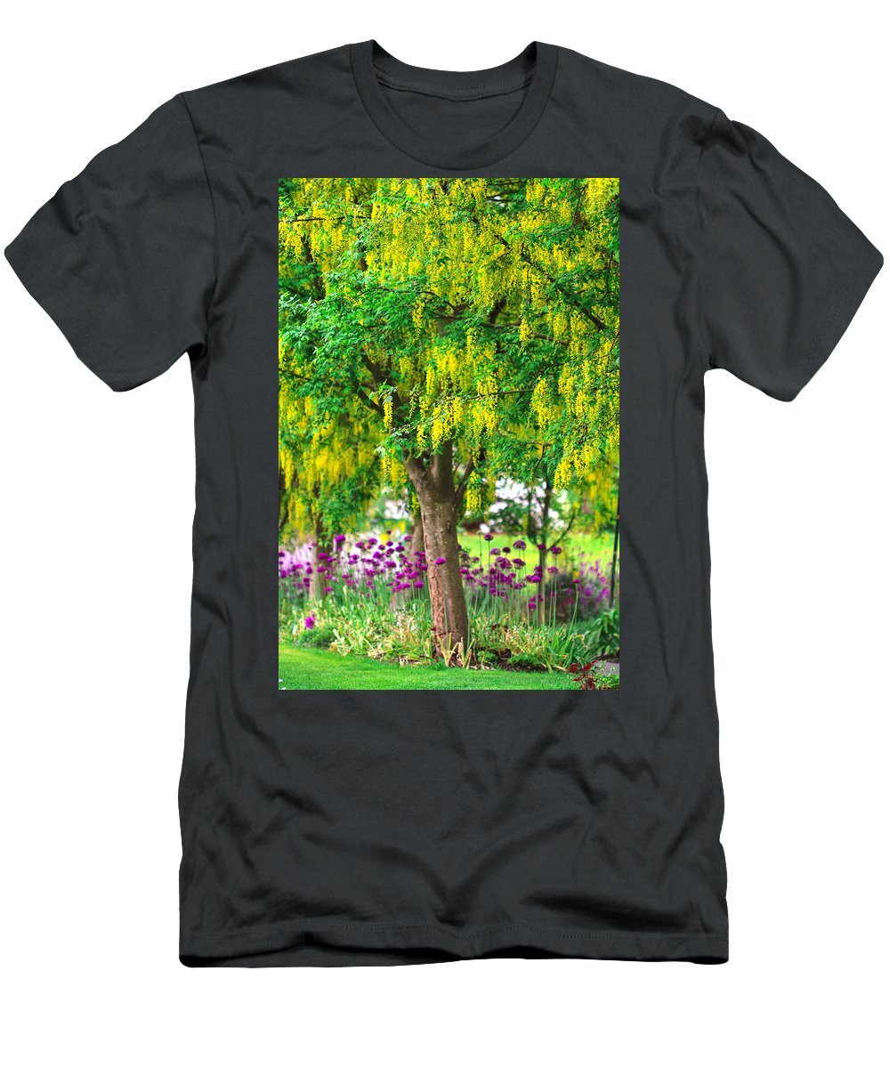 Colorful Men's T-Shirt (Athletic Fit) featuring the photograph Alone by Eti Reid