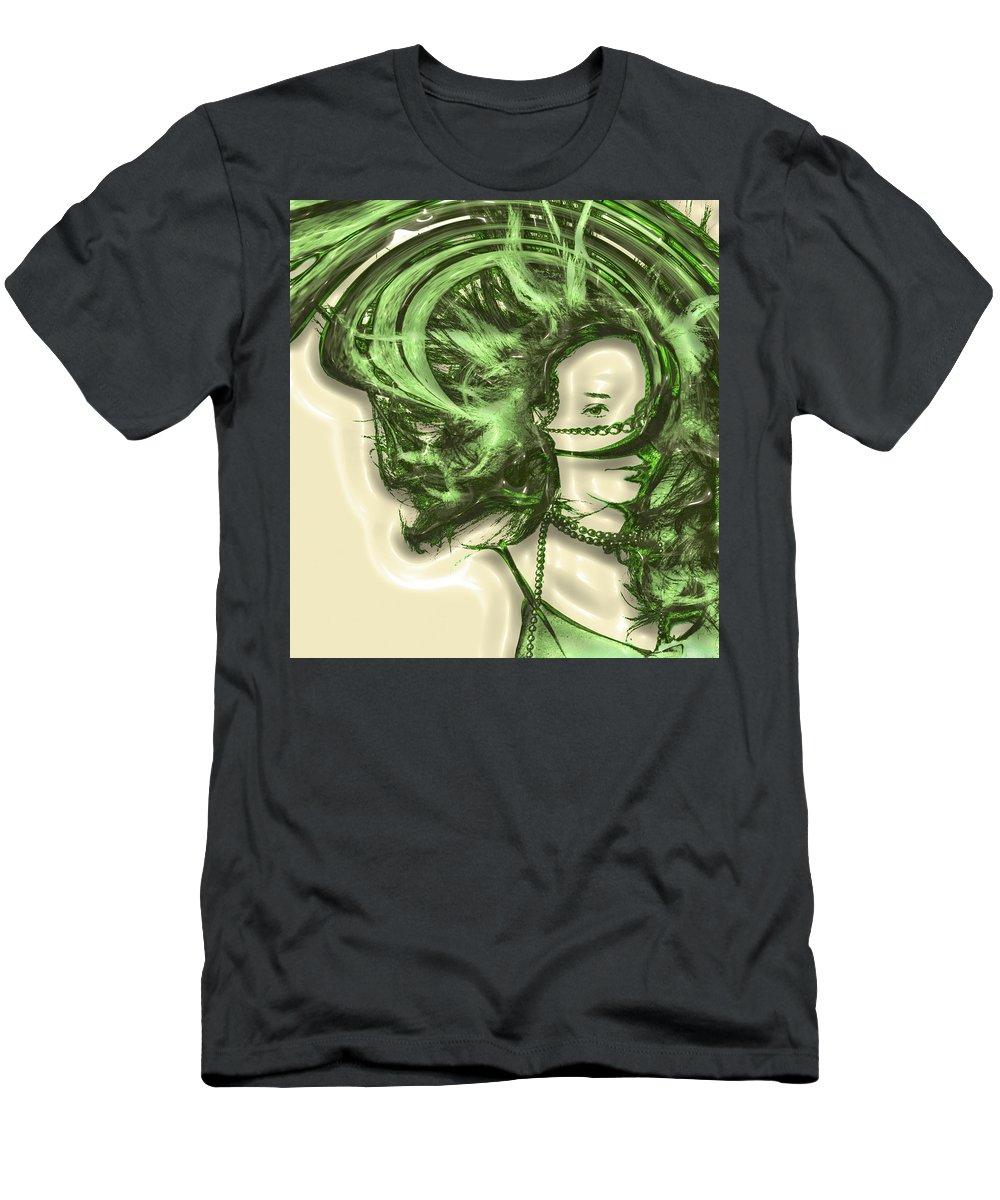 Portrait Men's T-Shirt (Athletic Fit) featuring the photograph Ambivalence by Andrea Kainz