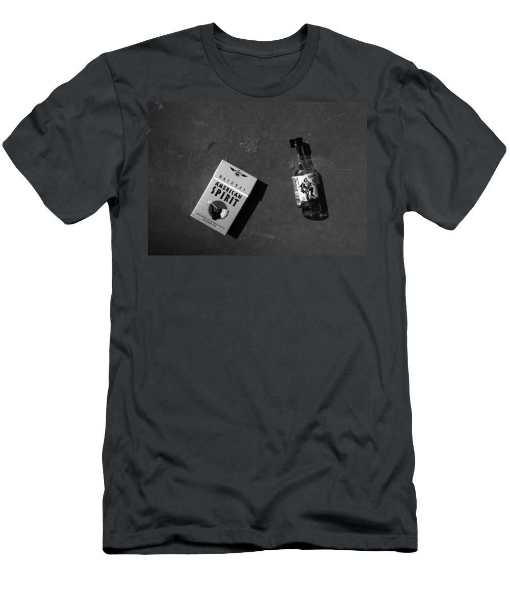 American Spirit Men's T-Shirt (Athletic Fit) featuring the photograph American Spirit by David Pantuso