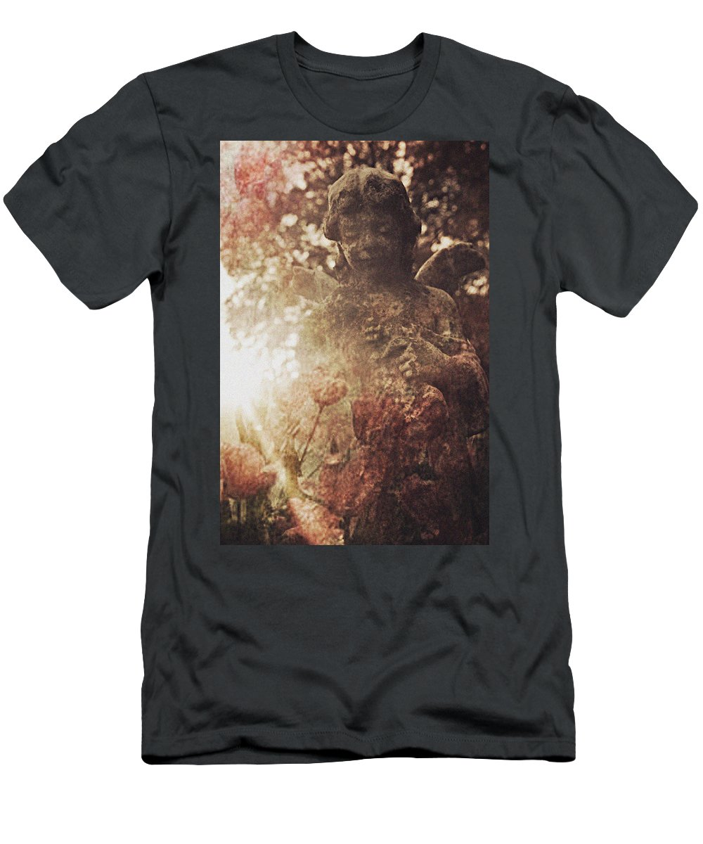 Angel Men's T-Shirt (Athletic Fit) featuring the photograph Among Angels by Jessica Brawley