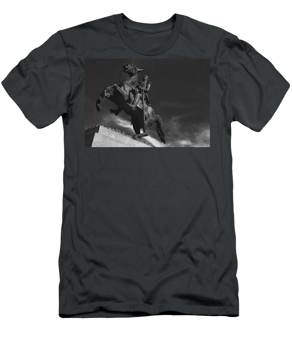 Andrew Jackson Men's T-Shirt (Athletic Fit) featuring the photograph Andrew Jackson  by Ron White
