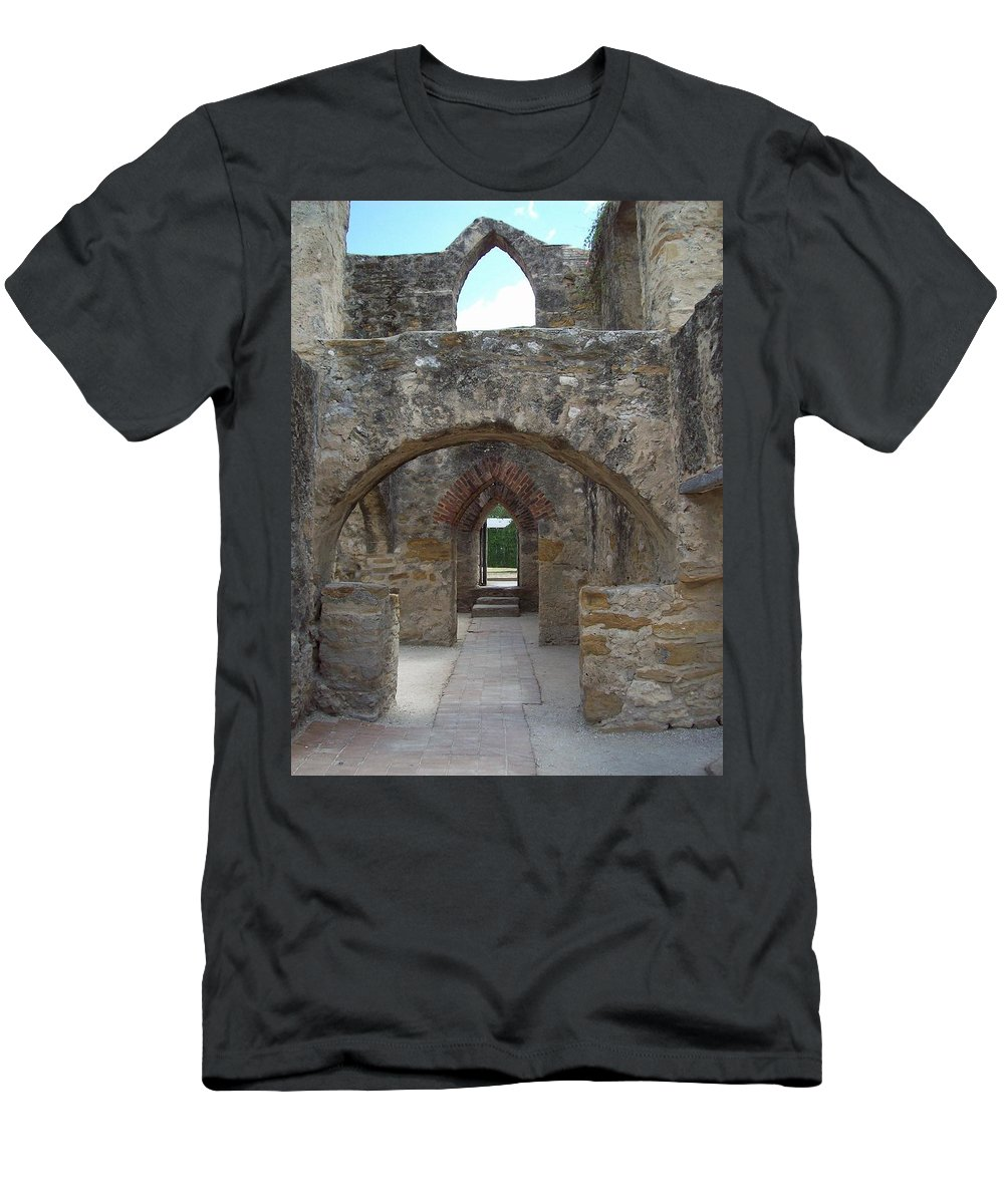 Arch Men's T-Shirt (Athletic Fit) featuring the photograph Arches by Richard Booth