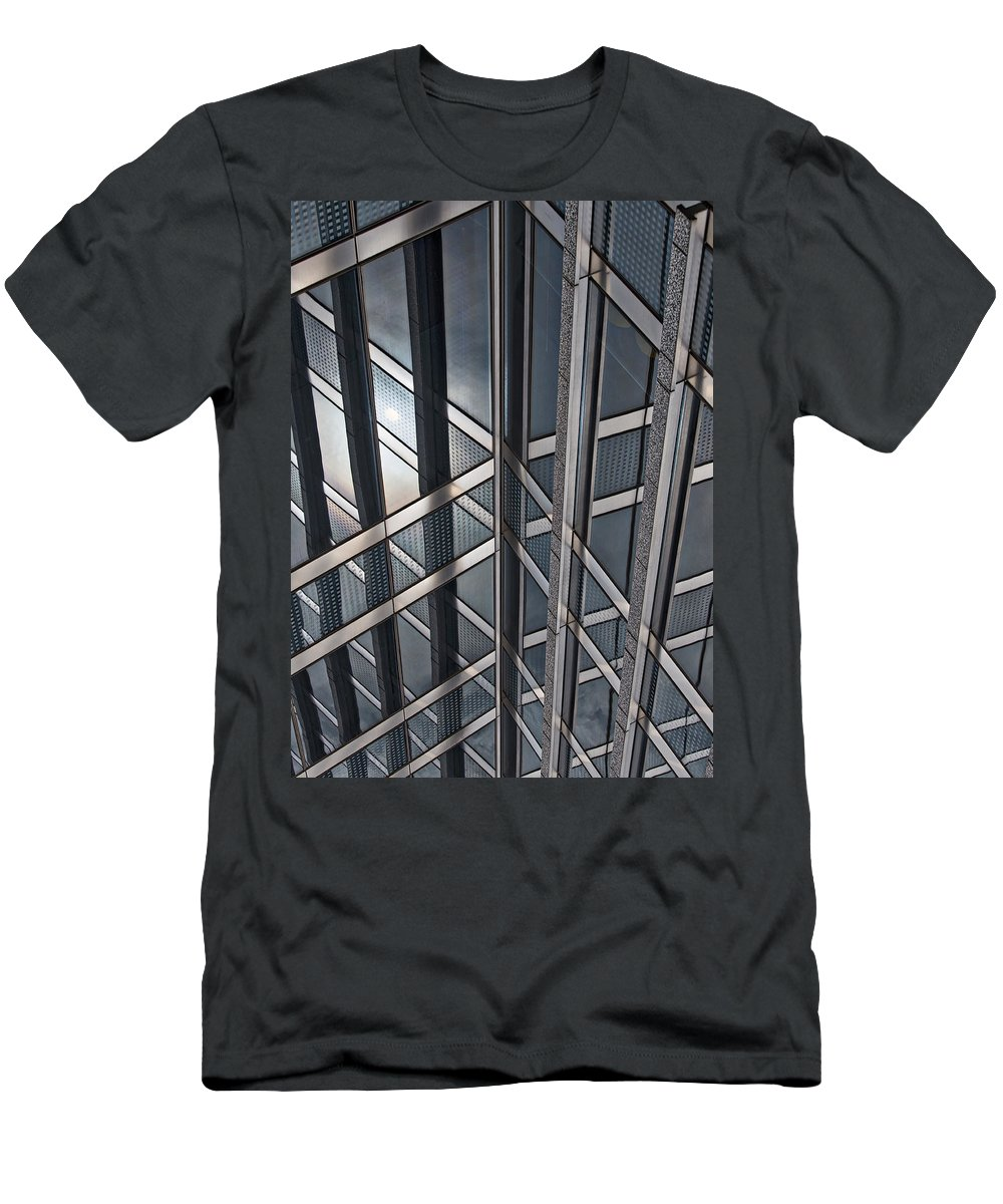 Chicago Men's T-Shirt (Athletic Fit) featuring the photograph Architectural Lines by Lauri Novak