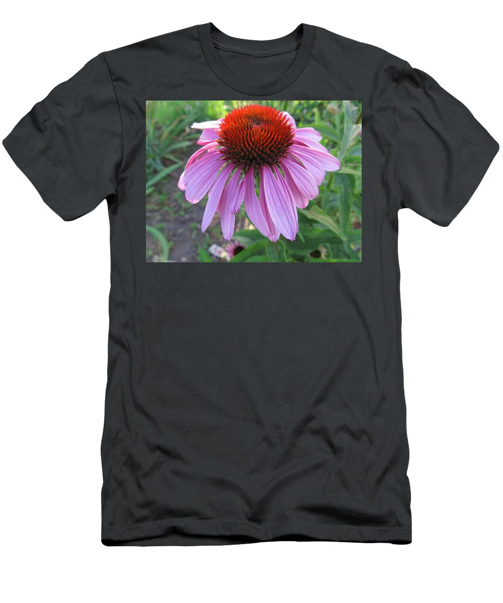 Flower Men's T-Shirt (Athletic Fit) featuring the painting Aroma Of Life by Robert Nacke